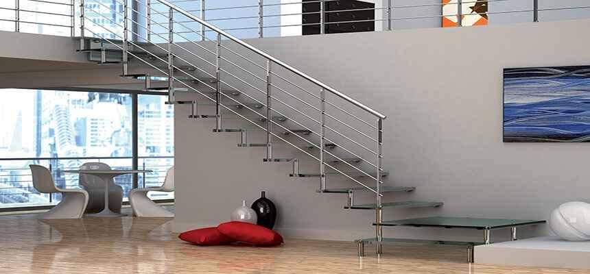 Стеклянные лестницы 24