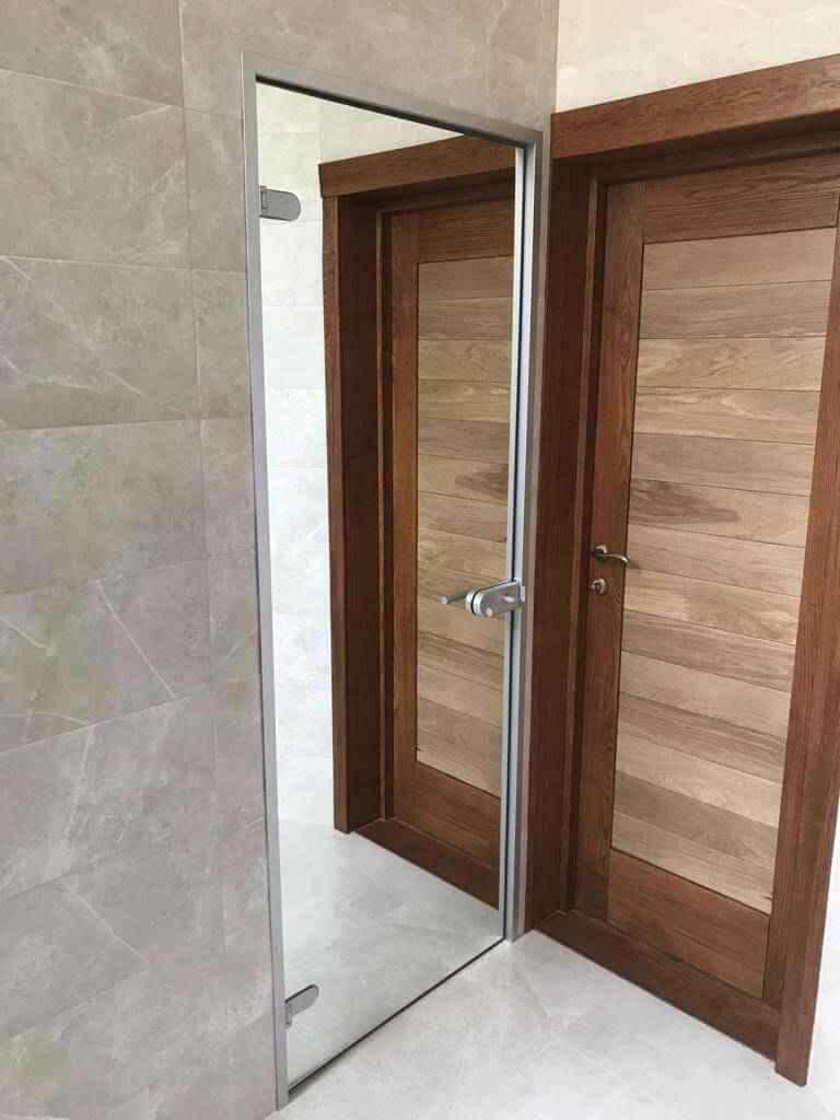 Стеклянные двери 18