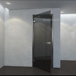 Распашная дверь матовая